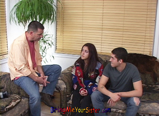 Latina Sister Auditions For Her Brother